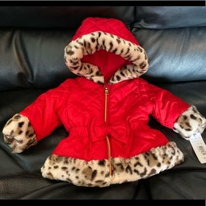 Pistachio Faux Fur Coat
